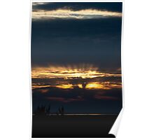Outer Banks Sunset, North Carolina Poster