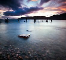 Loch Ness at Dusk by Curtis Budden