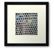 Behind The Wire Framed Print