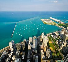 Chicago Cityscapes Lake by Daisy Yeung