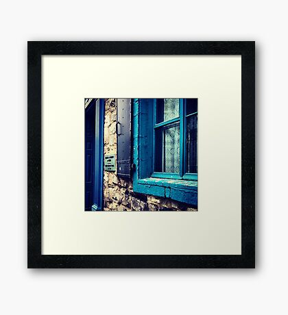 Old Town. Framed Print