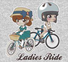 Ladies Ride One Piece - Long Sleeve