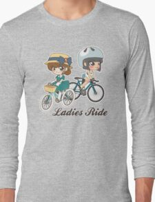Ladies Ride Long Sleeve T-Shirt