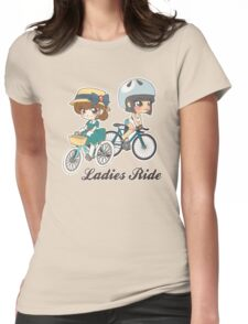 Ladies Ride Womens Fitted T-Shirt