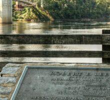 Robert E Lee Bridge Sticker