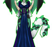 Countess Absinthe the Green Faerie by KeishaMaKainn