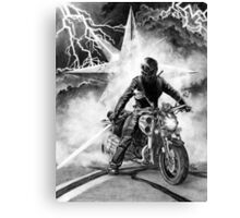 Woman of Thunder Canvas Print