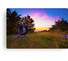 Heaven's Country Canvas Print