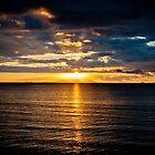 Sunset in Fiji by cyasick