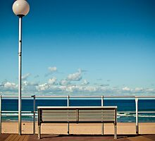 Bondi Beach Bench  by cyasick