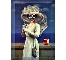 Death With Apple Photographic Print