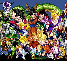 DBZ - Characters by J. Danion