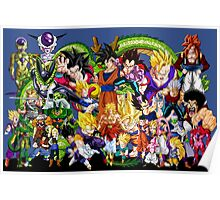 DBZ - Characters Poster
