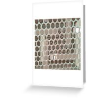Behind The Wire Greeting Card