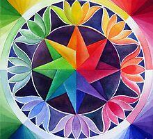 Colour wheel 2 by Karin Zeller
