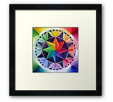Colour wheel 2 Framed Print