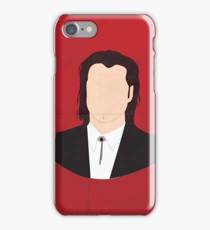 Flat Pulp Fiction  iPhone Case/Skin
