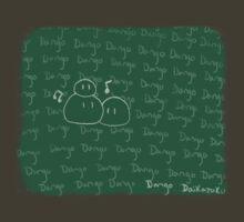 Clannad - Dango Daikazoku on the Blackboard by Kyrannyx