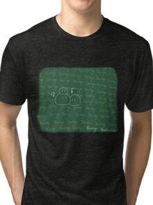 Clannad - Dango Daikazoku on the Blackboard Tri-blend T-Shirt