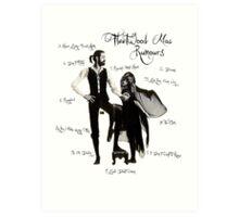 Fleetwood Mac: Rumours Art Print