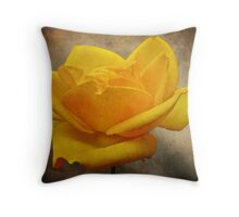Enigma Of The Yellow Rose #2 Throw Pillow