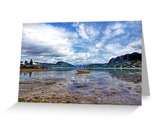 Plockton and Loch Carron, Scottish Highlands Greeting Card