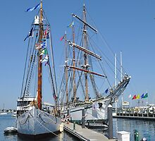 Tall Ships Times Two by Poete100