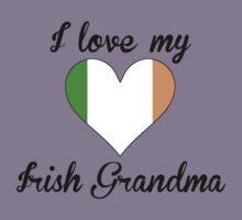 I Love My Irish Grandma Kids Tee