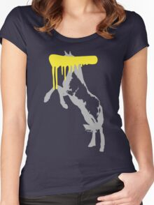 Censored Horse Women's Fitted Scoop T-Shirt