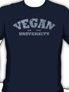 Vegan University T-Shirt
