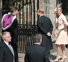 Prince Edward & Sophie arrive at Mike & Zara's wedding by justbmac