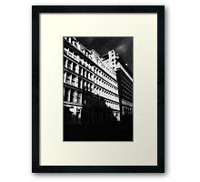 gotham city shadows Framed Print