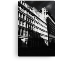 gotham city shadows Canvas Print