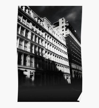 gotham city shadows Poster