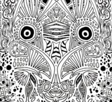 Shape experiment #2 Sticker