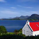 Cottage on Loch Torridon by David Alexander Elder