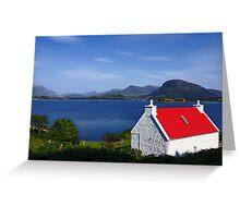 Cottage on Loch Torridon Greeting Card