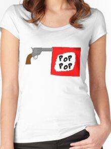 Magnitude Pop Pop Women's Fitted Scoop T-Shirt