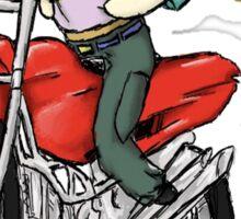 Marik and Bakura Motorcycle Ride Sticker