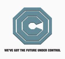 OMNICORP - WE'VE GOT THE FUTURE UNDER CONTROL - ROBOCOP REBOOT Kids Tee