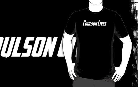 Coulson Lives (white) by rhaneysaurus