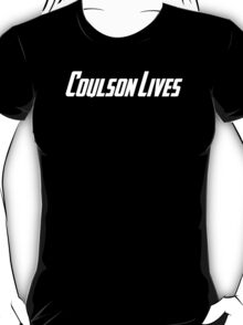 Coulson Lives (white) T-Shirt