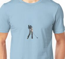 Tiger Woods Fragmented Glass T-Shirt Design  Unisex T-Shirt