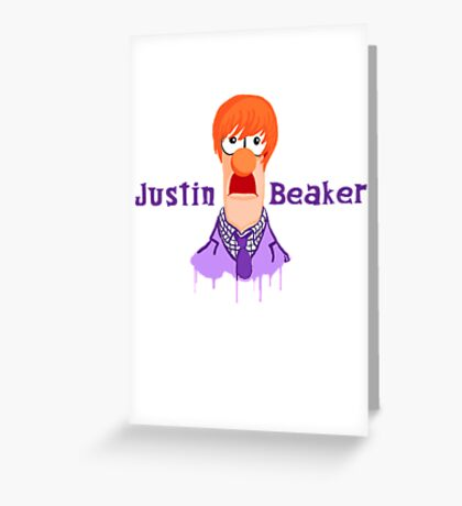 Meeper Fever. (Purple) Greeting Card