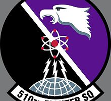 510th Fighter Squadron - US Air Force by wordwidesymbols