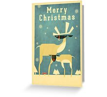 Reindeer 3 Greeting Card
