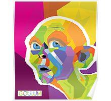 Gollum Pop Art Poster