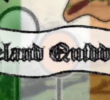 Ireland Quidditch Sticker