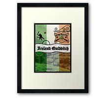 Ireland Quidditch Framed Print