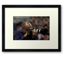 Big Shooter Framed Print